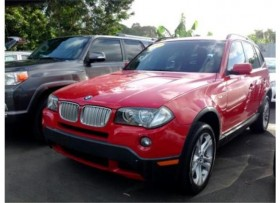 BMW X3 2007 PREMIUM SPORT PKG PANORAMIC