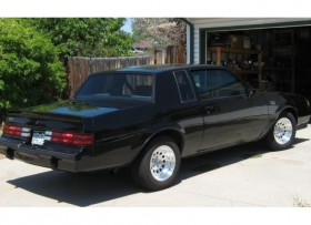 BUICK GRAND NATIONAL 1987 650 HP AUTO SHOW