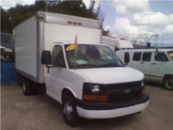 CHEVROLET 3500 STEP VAN 2009-2010