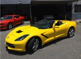 CHEVY CORVETTE STINGRAY CONVERTIBLE 2014