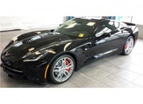 CORVETTE STINGRAY 2014 BLACK &RED INTERIORS