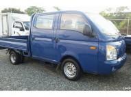 Camión Hyundai Porter II Doble Cabina Azul