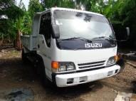 Camion isuzu 2001 volteo cara ancha turbo diesel y aire
