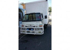 Camion daihatsu delta 2007 furgon acero