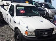Camioneta Ford Ranger 2011 blanca