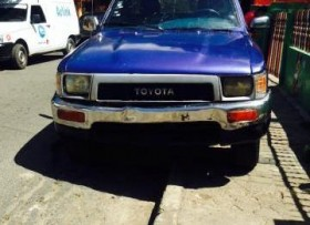 Camioneta Hilux 1993 azul