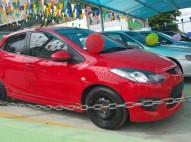 Carro Mazda Demio 2010 Rojo NUEVO