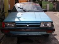 Carro SUBARU DEL 87 AZUL buen precio
