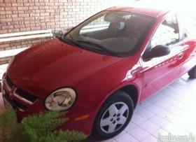 Carro Dodge Neon 2005 Rojo En Muy Buenas Condiciones