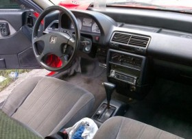 Carro Honda Civic 1990 cola de Pato