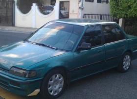 Carro Honda civic año 1991 el cola de pato