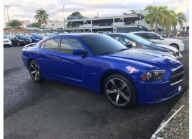 Charger RT Daytona azul beat audio Piel sunro