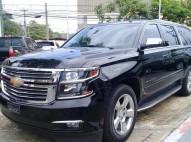 Chevrolet Suburban 2015 full negro con interior cocoa