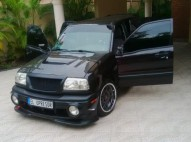 Chevrolet Tracker 2001 Modificada en fibra de carbono