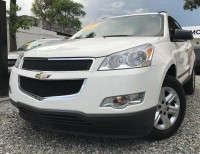 Chevrolet Traverse 2012 blanca