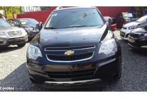 Chevrolet captiva 2011 negra