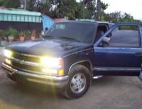 Chevrolet silverado 1994 azul marino