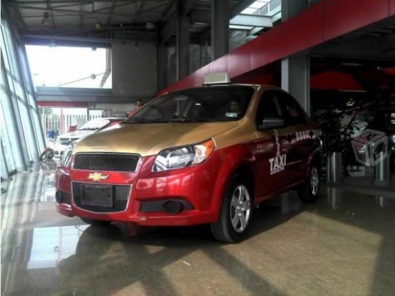 Chevrolet AVEO TAXIM CON CROMATICASIGUES PAGANDO CUENTAS