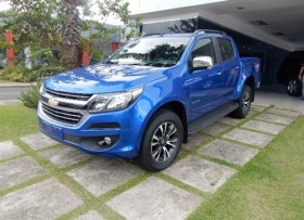 Chevrolet Colorado Z71 2018 azul
