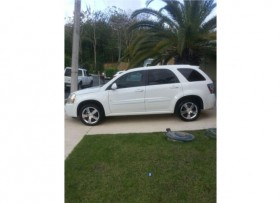 Chevrolet Equinox Esport color blanca 2008
