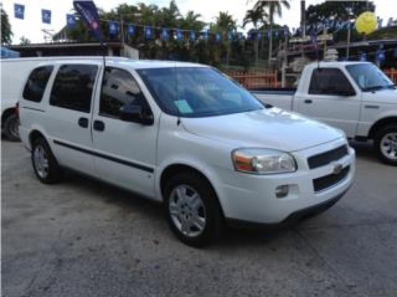 Chevrolet UPLANDERCARGA 2007 importada