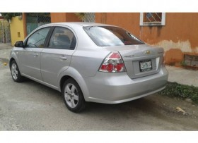 Chevrolet aveo 2008 lt version lujo factura original al dia AUTOMA