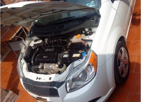 Chevrolet aveo lt standar 2012