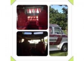 Chevy van 20 del 85Guagua camping