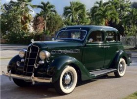 Chrysler Plymouth 1935 original de familia
