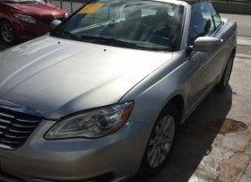 Chrysler Sebring Convertible 2012