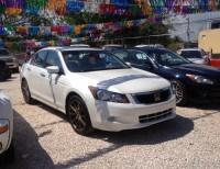 Como Nuevoo Honda Accord 2008 Full V6 Blanco Perla