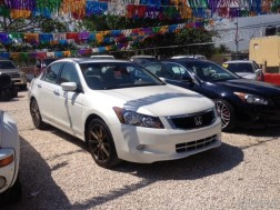 Como Nuevoo Honda Accord 2008 Full V6 Blanco Perla