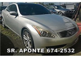 DESDE 392 MENS G37 COUPE 2008 INMACULADO