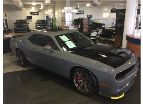 DODGE CHALLENGER HELLCAT 2017 DESTROYER GRAY