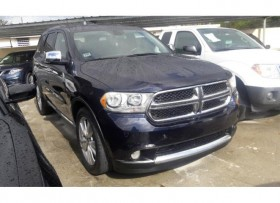 DODGE DURANGO CREW 2011 FAMILIAR