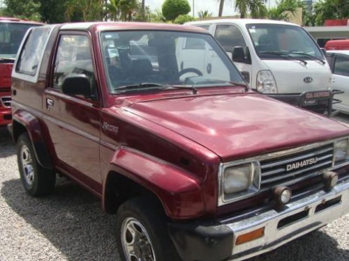 Daihatsu Rocky  1991