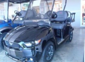EZ GO GOLF CARS MUSTANG
