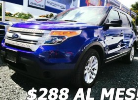 FORD EXPLORER 3 FILAS 2014