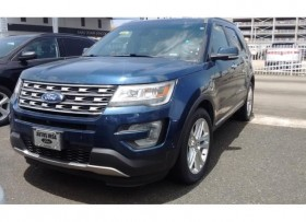 FORD EXPLORER LIMITED 2016 AZUL TAN