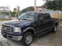FORD F-250 TURBO DIESEL 4X4 LARIAT 2006