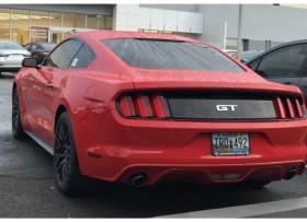 FORD MUSTANG 2016 GT V8 ROJO 7K MILLAS