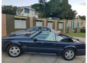FORD MUSTANG 50LT GT CONVERTIBLE 1989 HEADER
