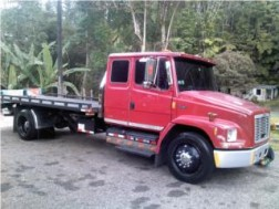 FREIGHTLINER CAB 12 FLAT BED SE CAMBIA