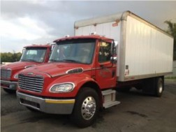 FREIGHTLINER M2 2008 CAJA 22 PIES 6 CAMBIOS