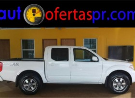 FRONTIER CREW CAB 4X4 PRO 2012 Â¡INMACULADA