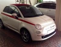 Fiat 500 2013 Blanco Convertible