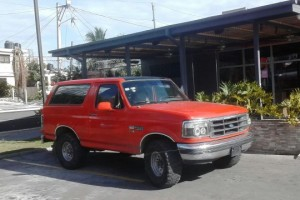 Ford Bronco 94 GAS Y GASOLINA  NEG