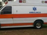 Ford E-350 1997 blanca y mamey ambulancia diésel