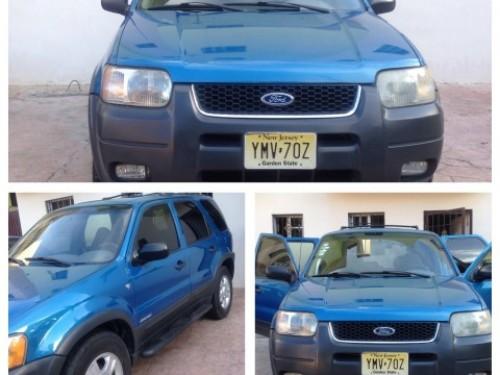 Ford Escape 2001 en excelentes condiciones