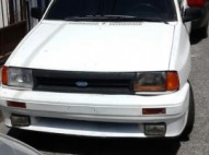 Ford Festiva 1990 Gas y Gasolina